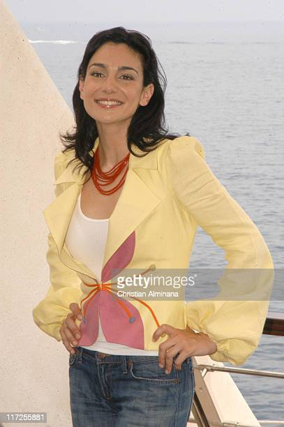 Annie Parisse during 45th Monte Carlo Television Festival Law Order Photocall at Grimaldi Forum in Monte Carlo France