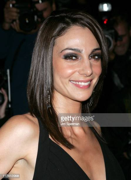 Annie Parisse during 'Prime' New York City Premiere Outside Arrivals at Ziegfeld Theater in New York City New York United States