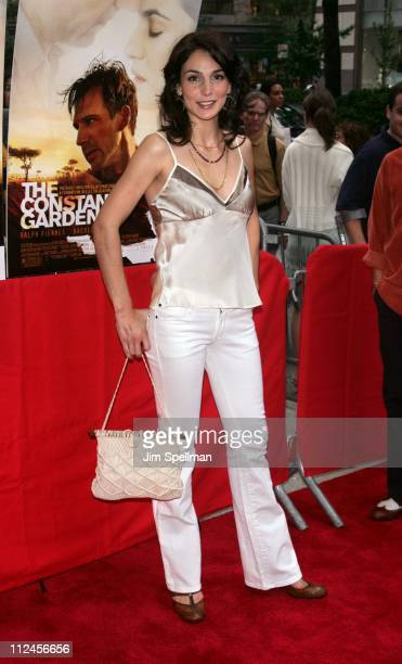Annie Parisse during 'The Constant Gardener' New York City Premiere Outside Arrivals at Loews Lincoln Square in New York City New York United States