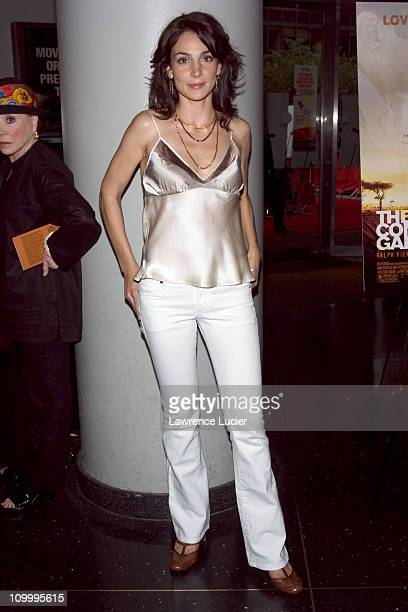 Annie Parisse during The Constant Gardener New York Premiere Arrivals at Loews Lincoln Square in New York City New York United States