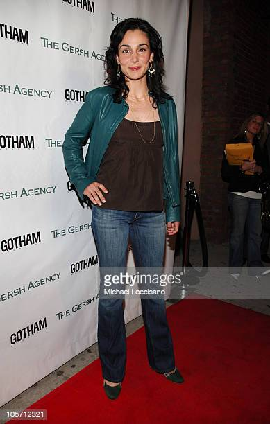 Annie Parisse during The Gersh Agency Celebrates New York Upfronts with Gotham Magazine at BED in New York City New York United States
