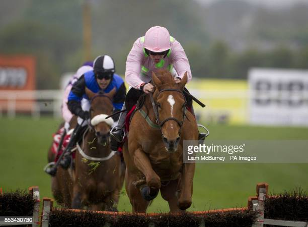 Annie Power ridden by Ruby Walsh wins Arctic Fire ridden by Ruby Walsh wins The Irish Stallion Farms European Breeders Fund Mares Champion Hurdle...