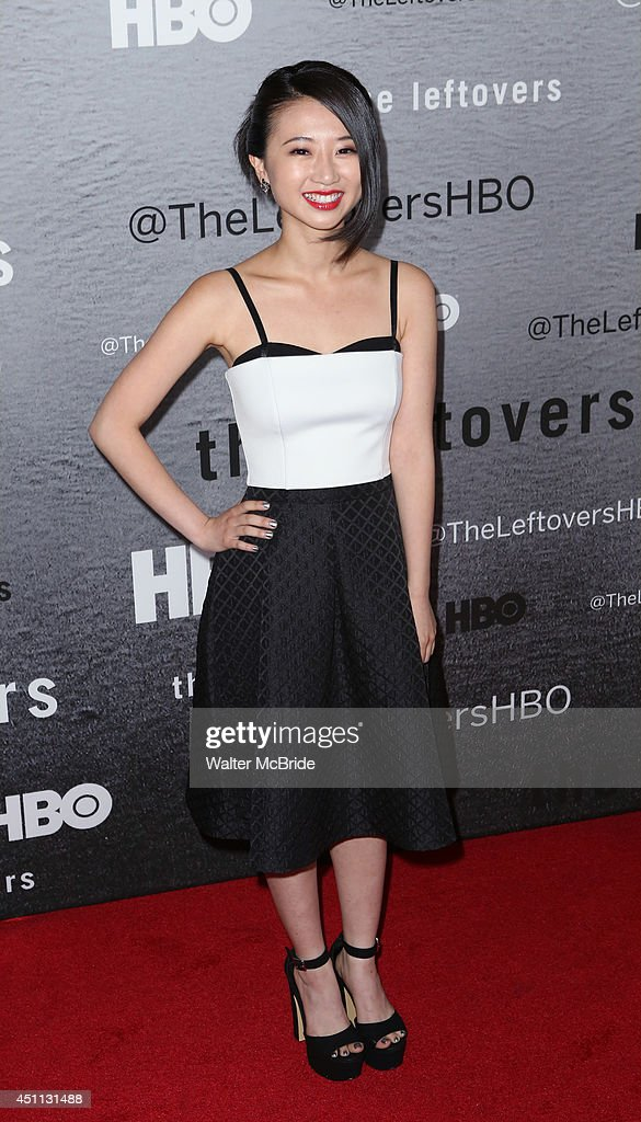 Annie Q attends 'The Leftovers' premiere at NYU Skirball Center on June 23, 2014 in New York City.