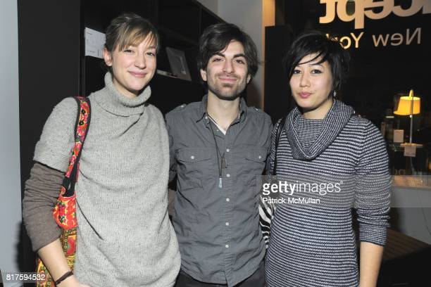 Annie Ruffil Mike Battaglia and Lisa Sudhibhasile attend 8TH ANNUAL BoCONCEPT/KOLDESIGN HOLIDAY PARTY at BoConcept on December 14 2010 in New York...