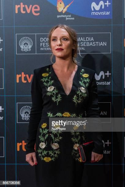 Annie Starke during 65th San Sebastian Film Festival Closure Gala at Kursaal on September 30 2017 in San Sebastian Spain