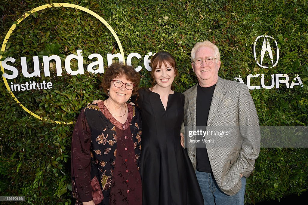 Annie Stiles-Heller, director Marielle Heller and Steven Heller attend the 2015 Sundance Institute Celebration Benefit at 3LABS on June 2, 2015 in Culver City, California.
