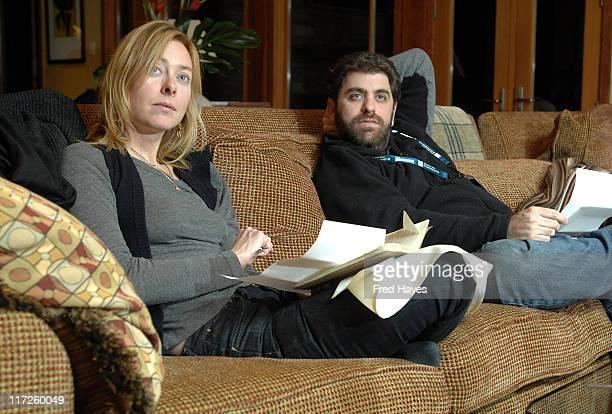 Annie Sundberg and Eugene Jarecki attend the Jury Dinner at Deer Valley during 2008 Sundance Film Festival on January 25 2008 in Park City Utah