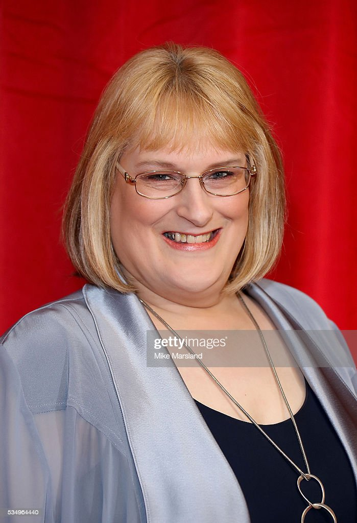 Annie Wallace attends the British Soap Awards 2016 at Hackney Empire on May 28, 2016 in London, England.