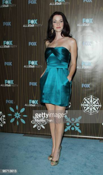 Annie Wersching arrives to the FOX 2010 AllStar Party held at Villa Sorisso on January 11 2010 in Pasadena California
