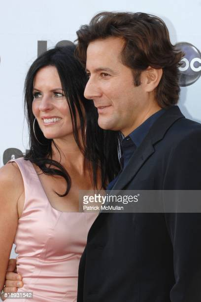 Annie Wood and Henry Ian Cusick attend Lost Finale at Royce Hall UCLA on May 13 2010 in Los Angeles CA