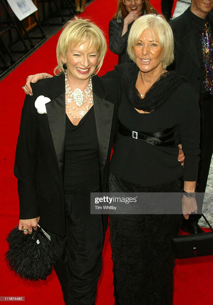 Anni-Frid Lyngstad of ABBA (right) and show producer Judy Cramer