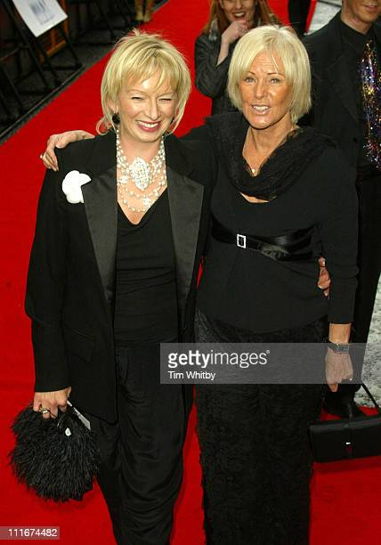 AnniFrid Lyngstad of ABBA and show producer Judy Cramer
