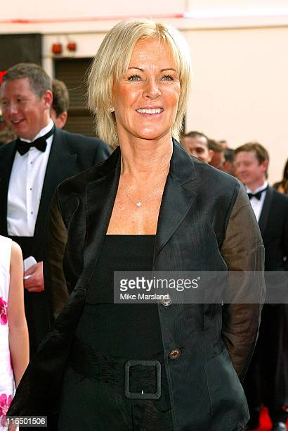AnniFrid Lyngstad of ABBA during The Royal Gala Charity Performance of 'Mamma Mia' at The Prince of Wales Theatre in London Great Britain