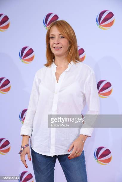 Annika Ernst attends the photo call for the television film 'Nackt Das Netz vergisst nie' at Astor Film Lounge on March 27 2017 in Berlin Germany