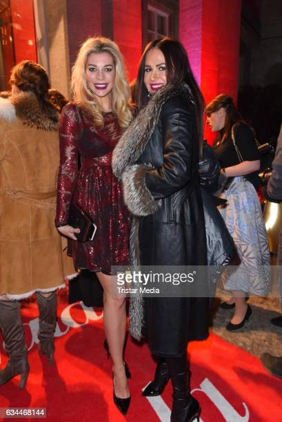 Annika Gassner and Rafaella White attend the Opening Night By GALA UFA on February 9 2017 in Berlin Germany