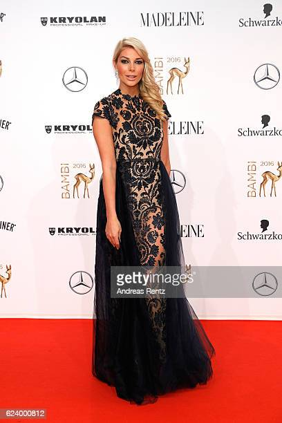 Annika Gassner arrives at the Bambi Awards 2016 at Stage Theater on November 17 2016 in Berlin Germany