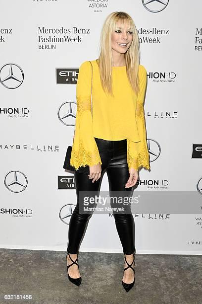 Annika Gassner attends the Dawid Tomaszewski X Patrizia Aryton show during the MercedesBenz Fashion Week Berlin A/W 2017 at Kaufhaus Jandorf on...