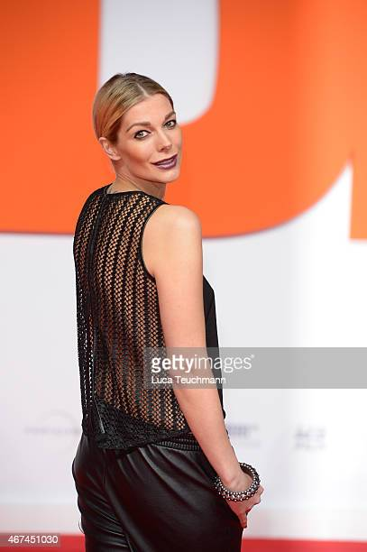 Annika Gassner attends the German premiere of the film 'Der Nanny' at CineStar on March 24 2015 in Berlin Germany