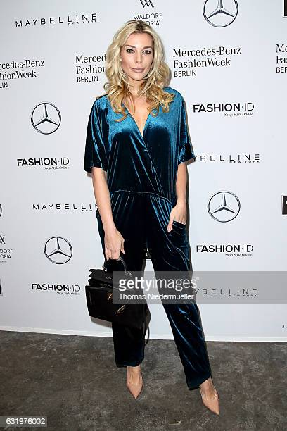 Annika Gassner attends the Maisonnoee show during the MercedesBenz Fashion Week Berlin A/W 2017 at Kaufhaus Jandorf on January 18 2017 in Berlin...