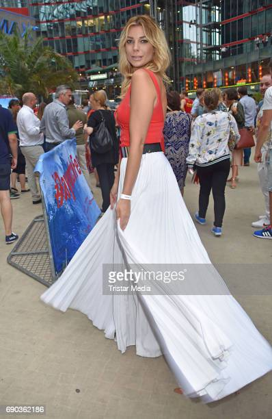 Annika Gassner during the Baywatch European Premiere Party on May 31 2017 in Berlin Germany