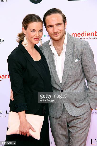 Annika Kipp and Frederick Lau attend the Lola German Film Award on May 27 2016 in Berlin Germany