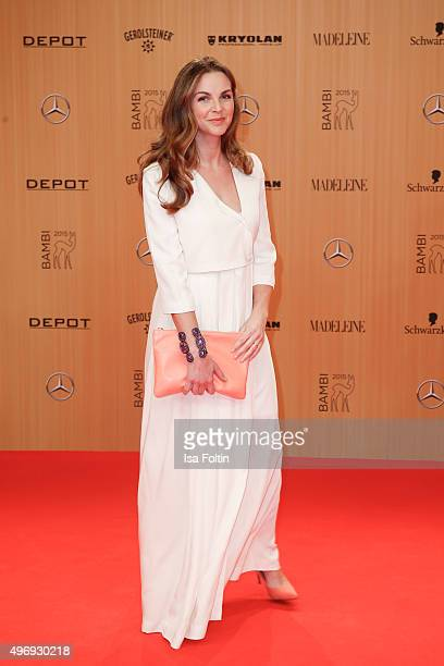 Annika Kipp attends the Kryolan At Bambi Awards 2015 Red Carpet Arrivals on November 12 2015 in Berlin Germany