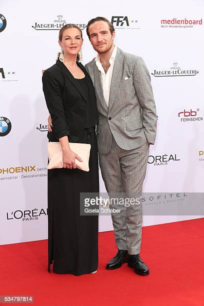 Annika Lau and Frederick Lau attend the Lola German Film Award 2016 on May 27 2016 in Berlin Germany