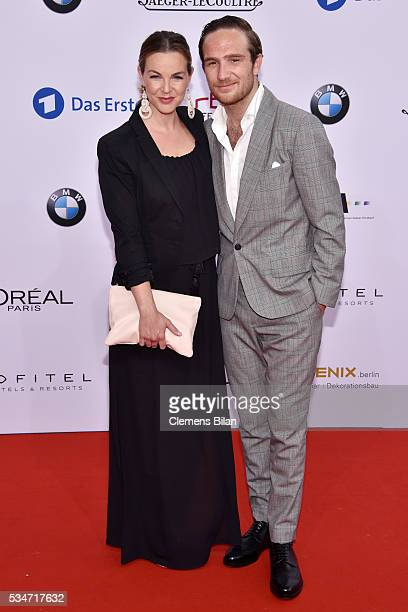 Annika Lau and Frederick Lau attend the Lola German Film Award on May 27 2016 in Berlin Germany
