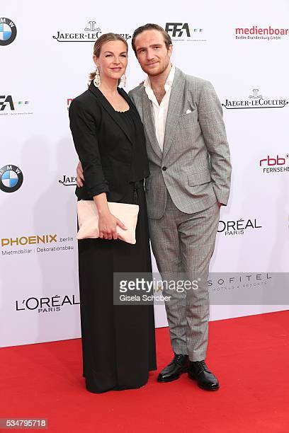 Annika Lau and her husband Frederick Lau attend the Lola German Film Award 2016 on May 27 2016 in Berlin Germany