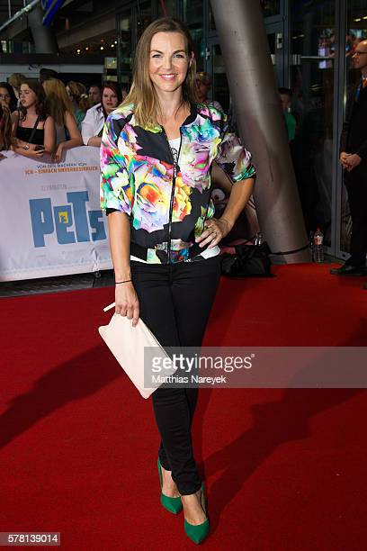 Annika Lau attends the premiere of the film 'PETS' at CineStar on July 20 2016 in Berlin Germany