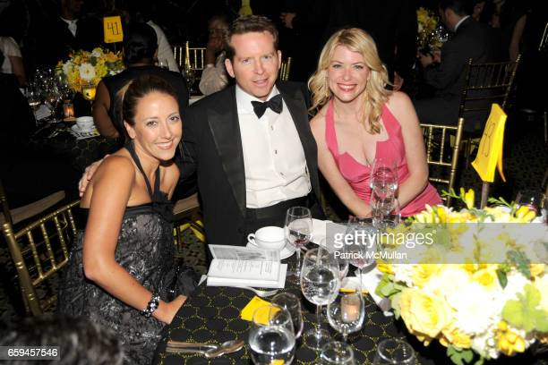 Annika Schmitz Jim Corl and Amy McFarland attend NEW YORKERS FOR CHILDREN 10th Annual Fall Gala at Cipriani 42nd on September 22 2009 in New York City