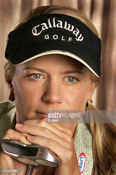 Annika Sorenstam Photo Session - August 30, 2005
