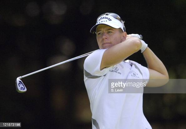 Annika Sorenstam during the continuation of the second round of the Jamie Farr Owens Corning Classic at Highland Meadows Golf Club in Sylvania Ohio...
