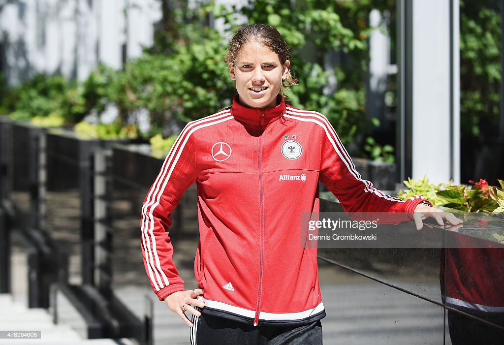 Annike Krahn of Germany poses on June 24 2015 in Montreal Canada