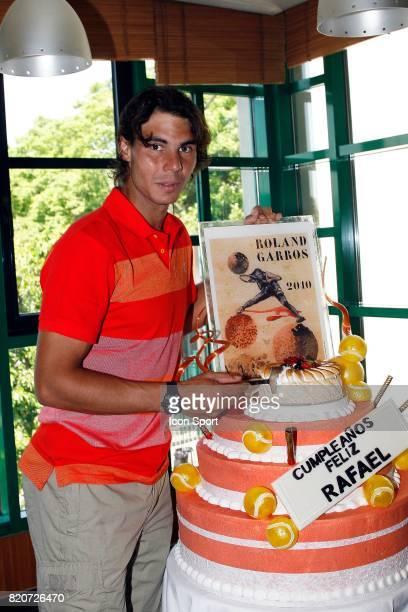 Anniversaire de Rafael NADAL 1/2 Finale de Roland Garros 2010 Paris