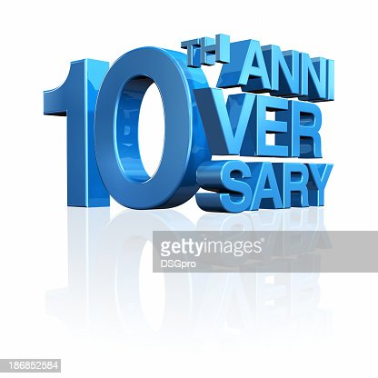 Anniversary 10th