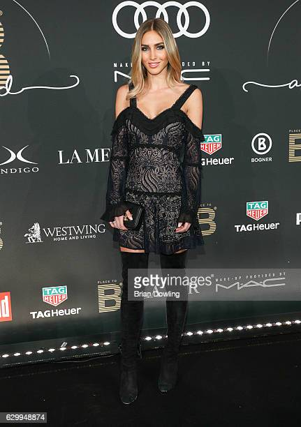 AnnKathrin Broemmel arrives at the Place To B Influencer Award at Axel Springer Haus on December 15 2016 in Berlin Germany