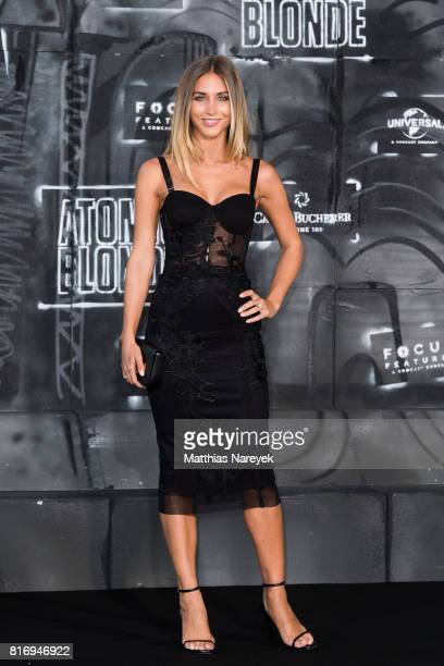 AnnKathrin Broemmel attends the 'Atomic Blonde' World Premiere In Berlin at Stage Theater on July 17 2017 in Berlin Germany