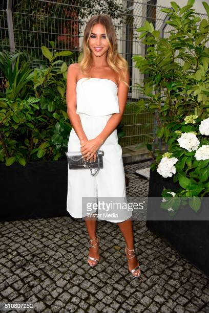 AnnKathrin Broemmel attends the MICHALSKY StyleNite during the MercedesBenz Fashion Week Berlin Spring/Summer 2018 at eWerk on July 7 2017 in Berlin...