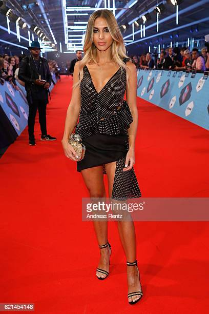 AnnKathrin Broemmel attends the MTV Europe Music Awards 2016 on November 6 2016 in Rotterdam Netherlands