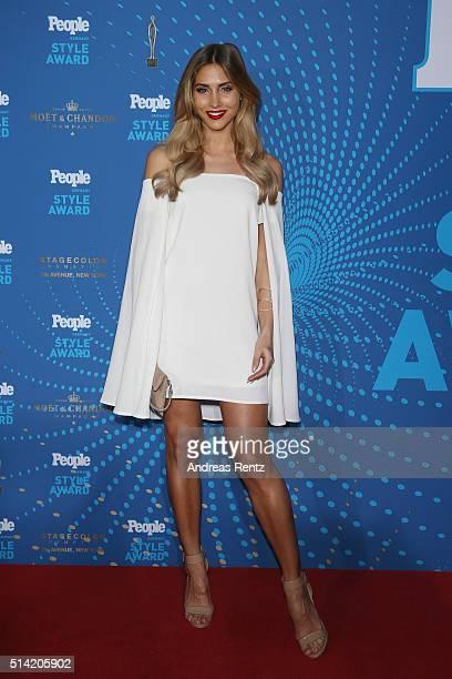 AnnKathrin Broemmel attends the PEOPLE Style Awards at Hotel Vier Jahreszeiten on March 7 2016 in Munich Germany