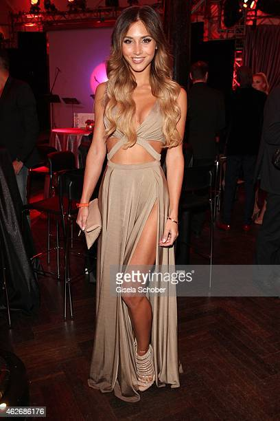 AnnKathrin Broemmel model and girlfriend of Mario Goetze during the Lambertz Monday Night 2015 at Alter Wartesaal on February 2 2015 in Cologne...
