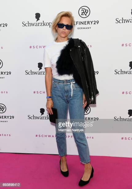 AnnKathrin Grebner attends the Schwarzkopf x Refinery29 event at Bar Babette on June 8 2017 in Berlin Germany