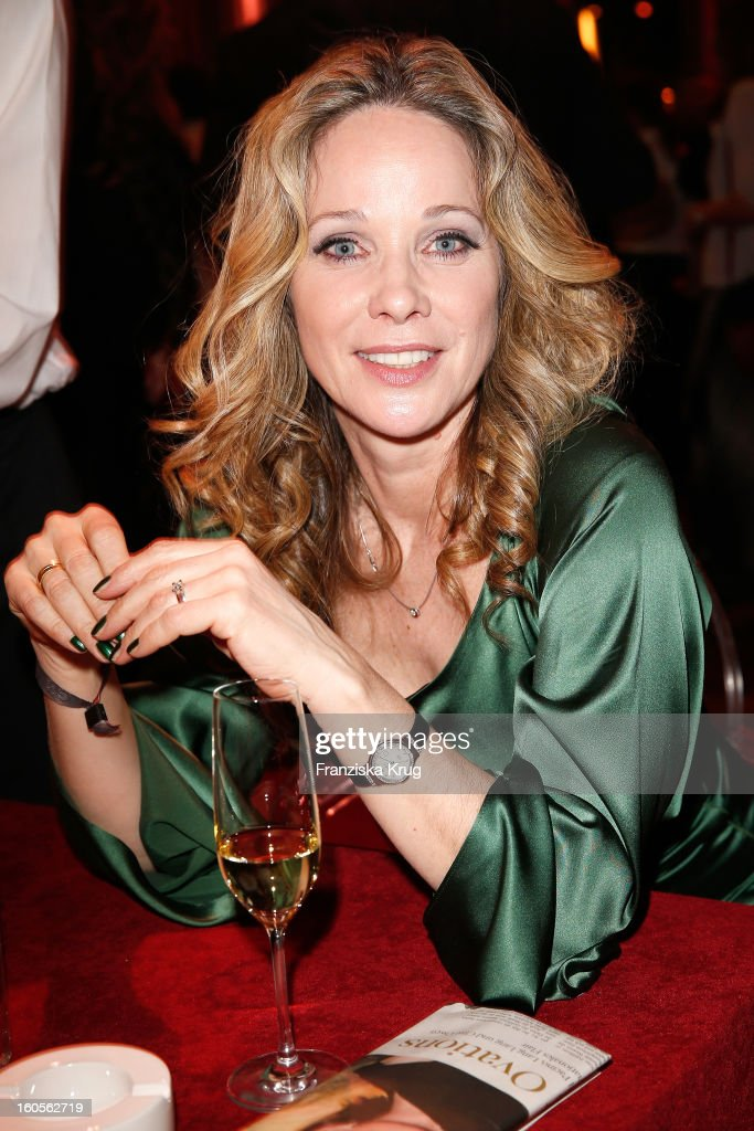 Ann-Kathrin Kramer attends 'Goldene Kamera 2013' at Axel Springer Haus on February 2, 2013 in Berlin, Germany.