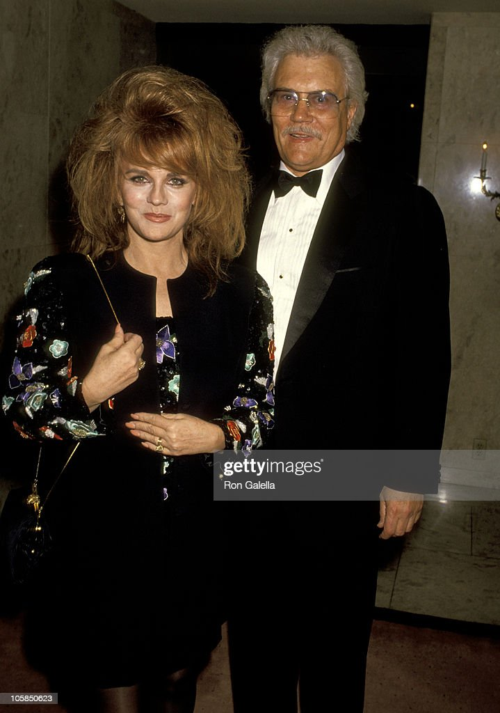 Ann-Margret and Husband Roger Smith during Benefit Fundraiser for John Gary at Bel Age Hotel in West Hollywood, California, United States.