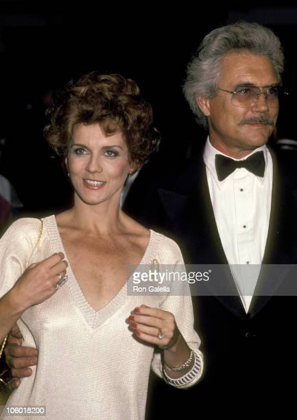 AnnMargret and Husband Roger Smith during 'La Cage Aux Folles' Broadway Opening August 21 1983 at Palace Theater in New York New York United States