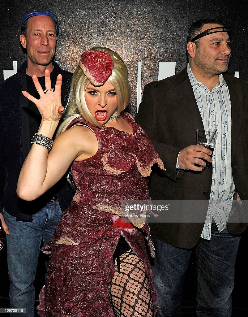 Ann-Marie Sepe as 'Lady Gaga' attends Totally Tubular Time Machine at Culture Club on January 19, 2013 in New York City.