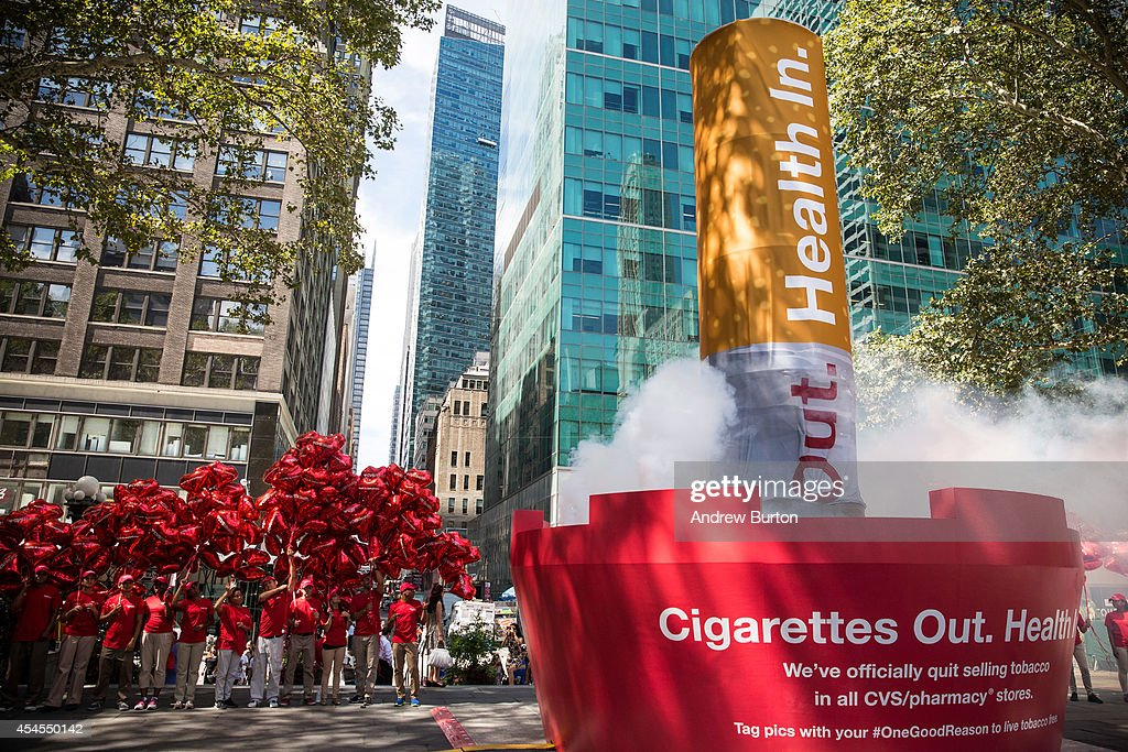 CVS announced it had completed removing cigarettes and other tobacco products for sale from its store a month before its October 1st deadline by...