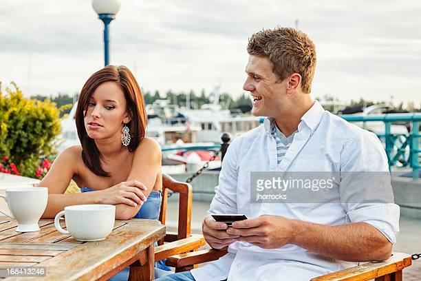 Annoying Boyfriend with Smart Phone