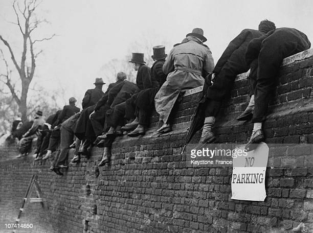 Annual Eton Wall Game In United Kingdom On 1946